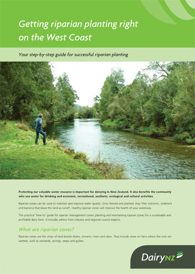 Getting riparian planting right on the West Coast