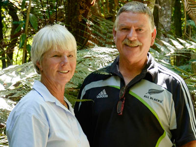 Alister and Lyn Candy