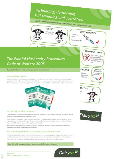 Painful Procedures Info Pack