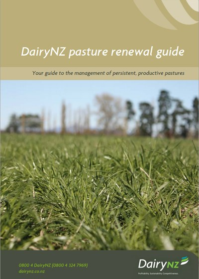 Pasture Renewal Guide