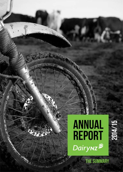 DairyNZ Annual Report Summary 2014-15