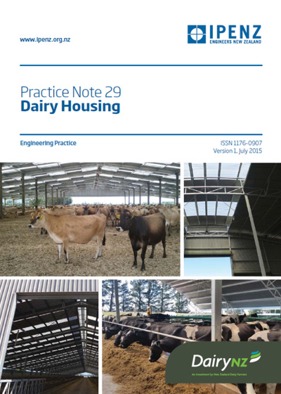 IPENZ Practice Note 29 Dairy Housing