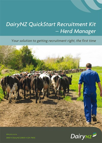 Quickstart Recruitment Kit Herd Manager