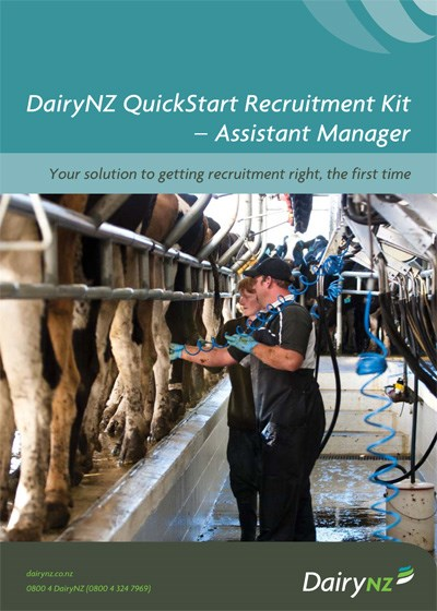 Quickstart Recruitment Kit Assistant Manager