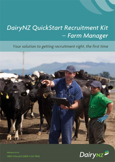 Quickstart Recruitment Kit Farm Manager