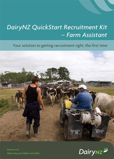 Quickstart Recruitment Kit Farm Assistant