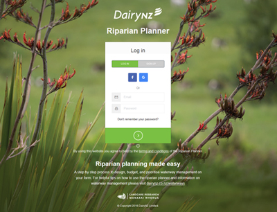 DairyNZ Riparian Planner Tool