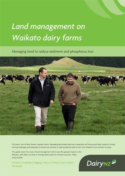 Land management on Waikato dairy farms