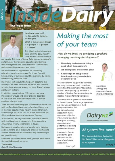 Inside Dairy July 2010