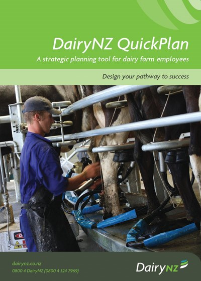 DairyNZ QuickPlan - for dairy farm employees