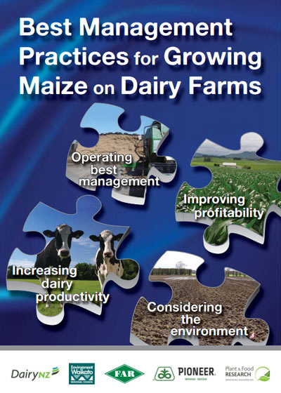 Growing Maize on Dairy Farms