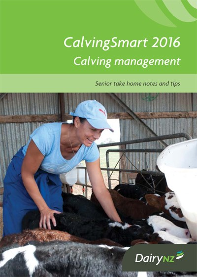 CalvingSmart Senior Take Home Notes