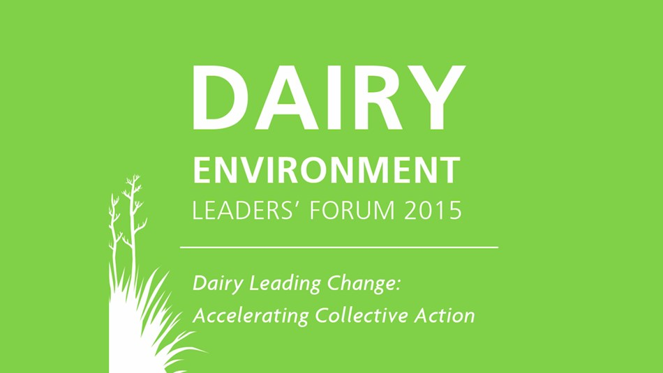 Dairy Environment Leaders' Forum video