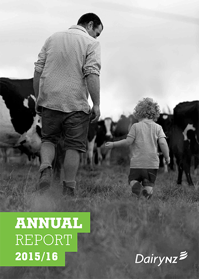 DairyNZ Annual Report 2015-16