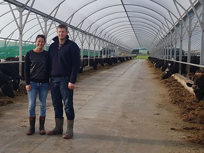 Tuatapere dairy farmers Peter and Tanya Copeland are part of DairyNZ's high-performance discussion group.
