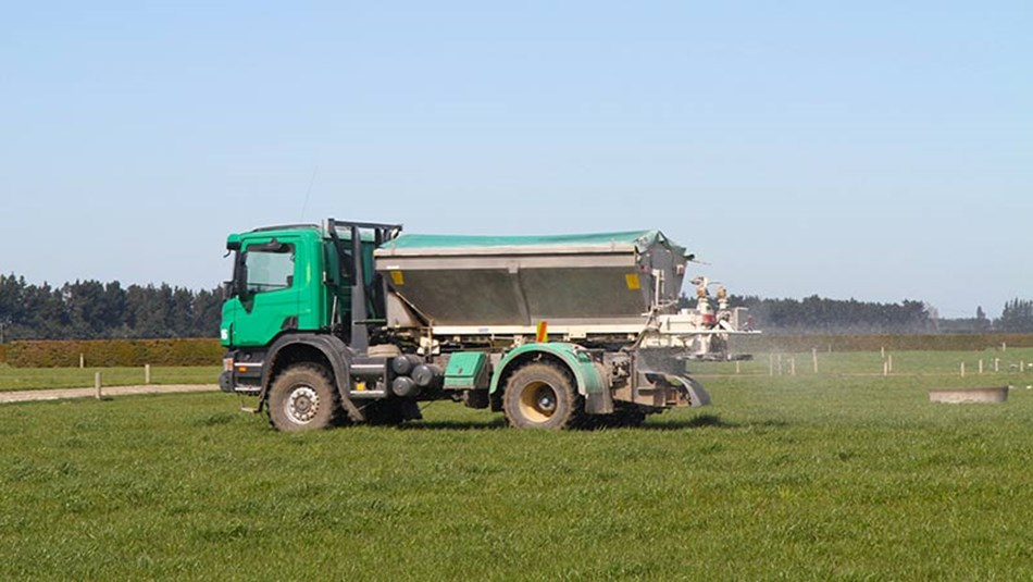Fertiliser truck
