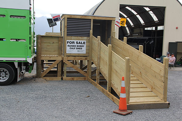 Comercially available facility with optional ramp
