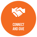 Connect and give