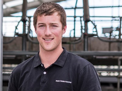 Sam Lovelock - Farm Manager - Paritea
