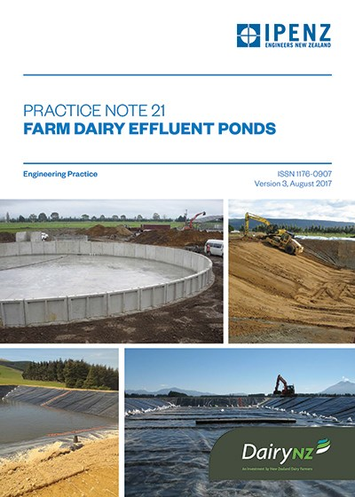 IPENZ Farm Dairy Effluent Pond Design and Construction