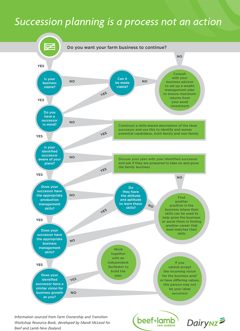 Succession Planning DairyNZ - Business succession plan template