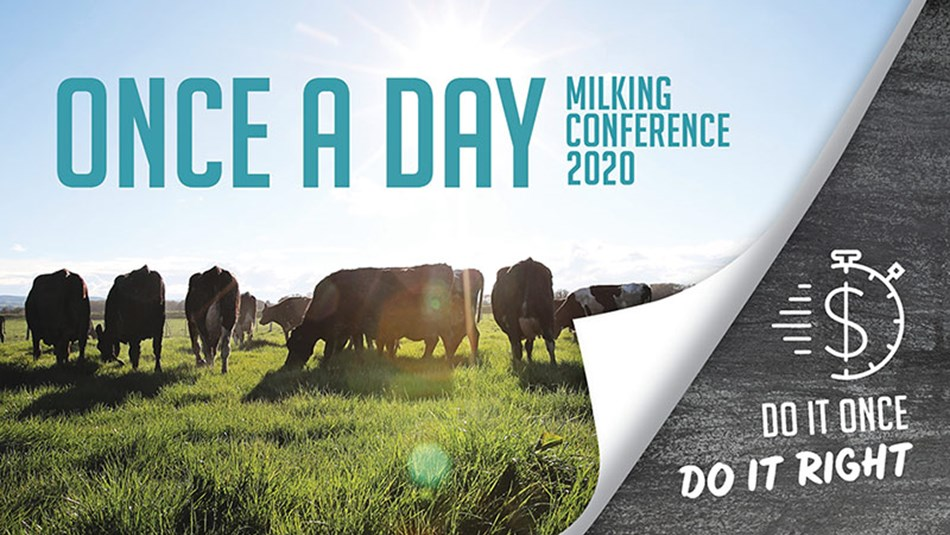 Once a Day milking conference 2020