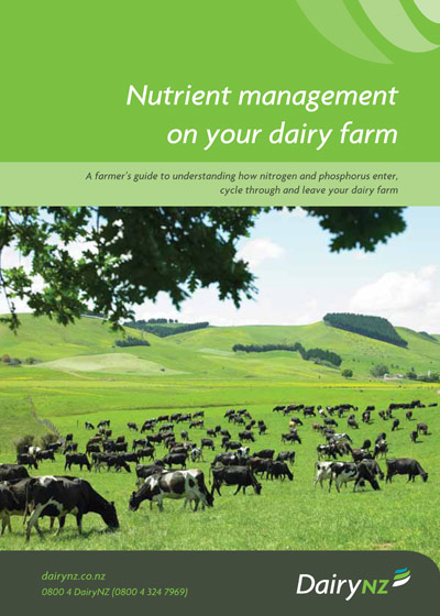 Nutrient Management on your Dairy Farm