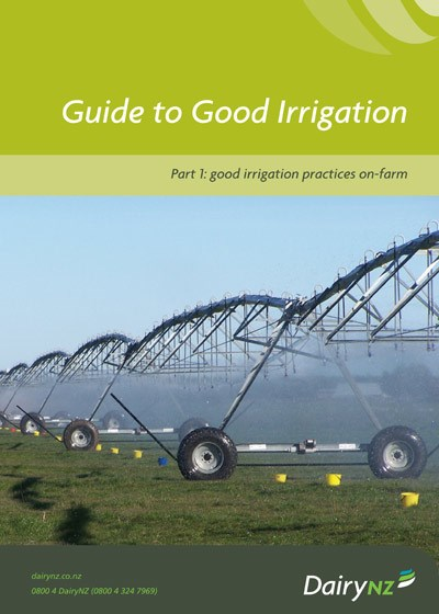 Guide to Good Irrigation Part 1