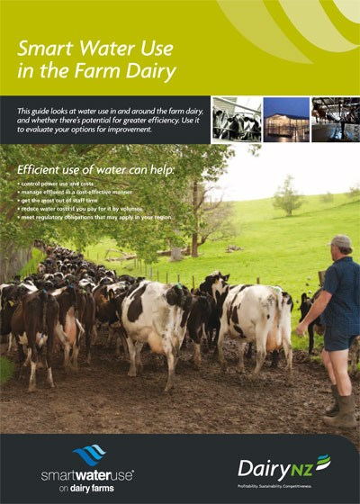 Smart Water Use in the Farm Dairy