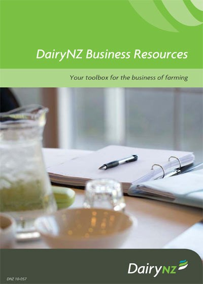 DairyNZ Business Resources Catalogue