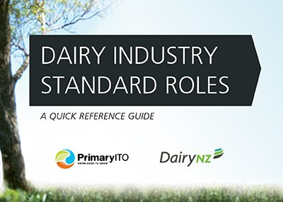 Dairy Farm Role Descriptions